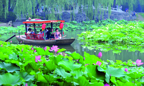 Where to let your love of lotus flowers blossom global times head to one of beijings lakes and enjoy the lotus flowers photo cfp mightylinksfo