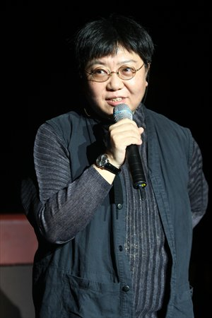 Acclaimed theater director Tian Qinxin. Photo: CFP
