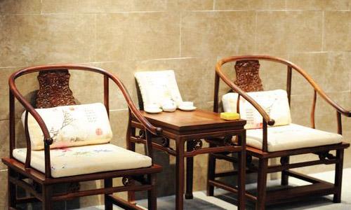 Rosewood Furniture Exhibited In Putian In East Chinau0027s Fujian Province.  Photo: CFP