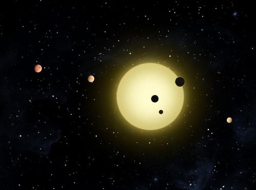 Previous discoveries of NASA's Kepler mission: Kepler-11 is a sun-like star around which six planets orbit. Photo: NASA