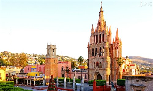 At the heart of mexico global times for Jardin san miguel de allende