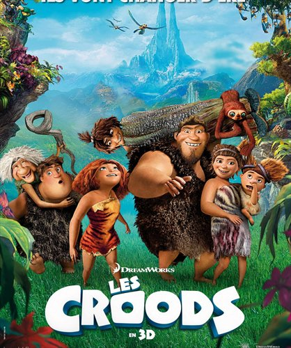 A scene from <em>The Croods</em>