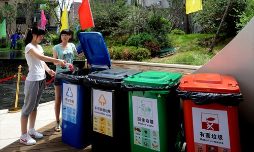 Xi'an residents who refuse to sort their garbage will lose social credit points - Global Times