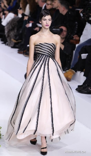 raf simons 39 christian dior show shines paris global times