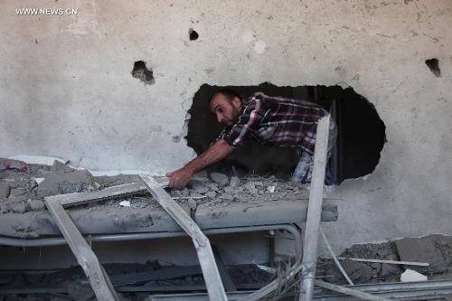 Israeli airstrike hits Jabalia refugee camp in Gaza Strip