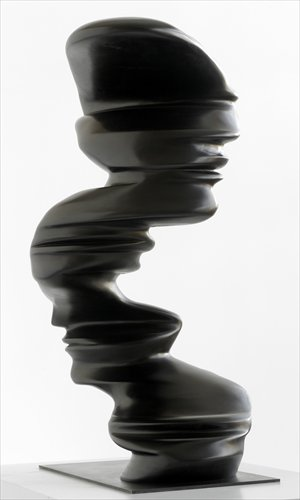 Tony Cragg's work on show at the exhibition, Bent of Mind
