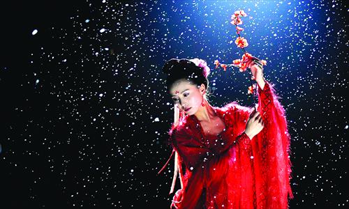 Leading actress Liu Shishi in Treading On Thin Ice. Photo: CFP