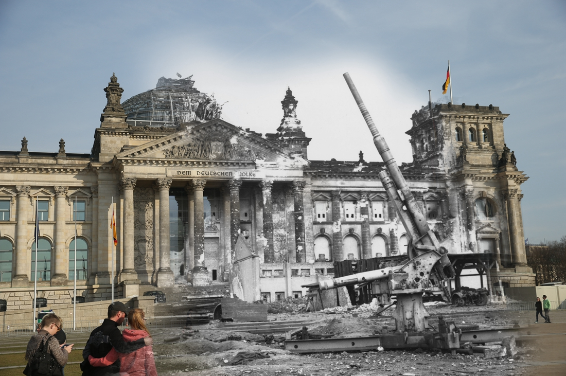 Old Photos of Berlin After World War II ~ vintage everyday  |Berlin Germany After Wwii