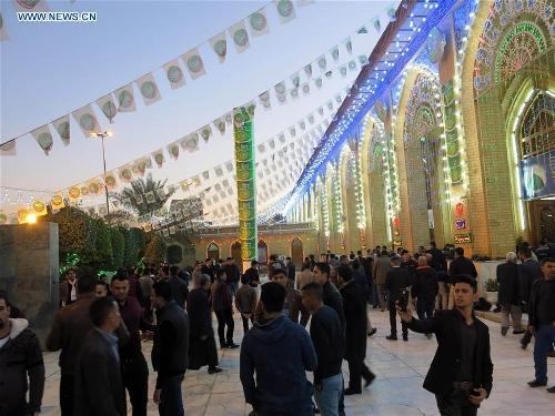 Celebrations held in Iraq to mark birthday of Prophet