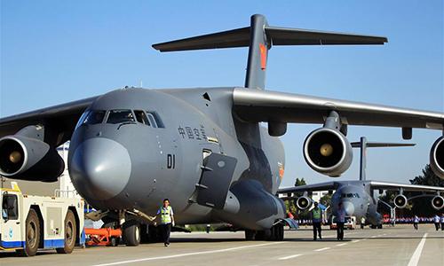 Китай розробив повітряний танкер на основі великого транспортного літака Y-20