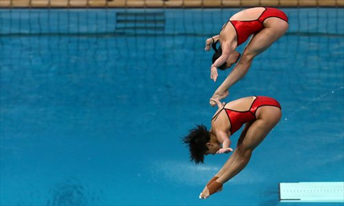 history of springboard diving