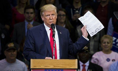 Trump video release causes wide swings in Wisconsin