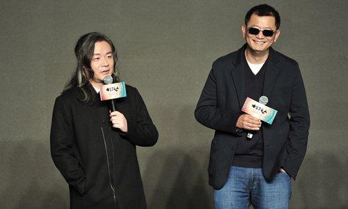 Zhang Jiajia (left) and Wong Kar-wai Photo: Courtesy of Yingxing Tianxia