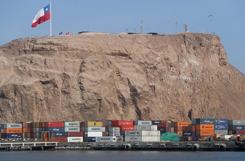 A view of the Port of Arica in Chile Photo: IC