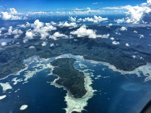 View from the solo flight of Wang Zheng Photo: Courtesy of Wang Zheng