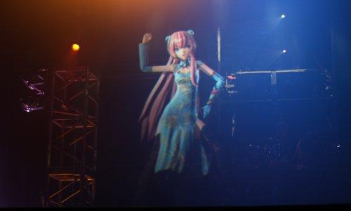 Japanese virtual idol Hatsune Miku Photo: IC