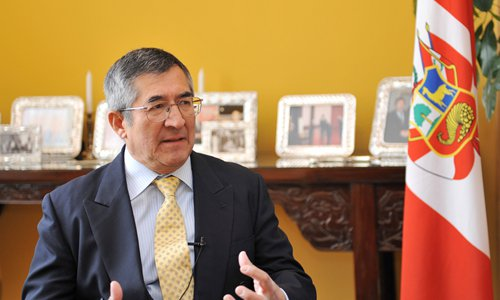 Juan Carlos CapunayPhoto: Courtesy of Embassy of Peru in China