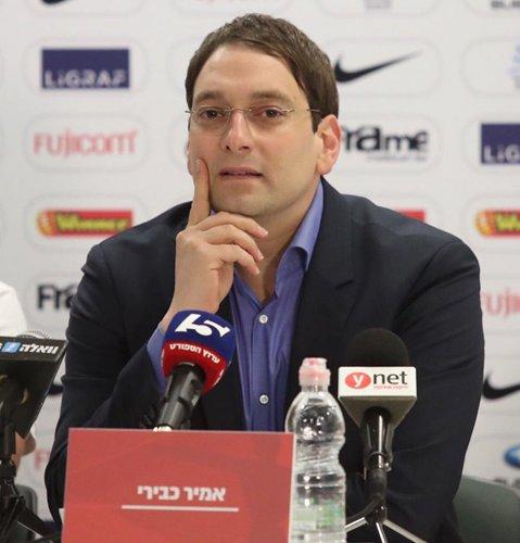 Amir Kabiri, club manager of Hapoel Tel Aviv