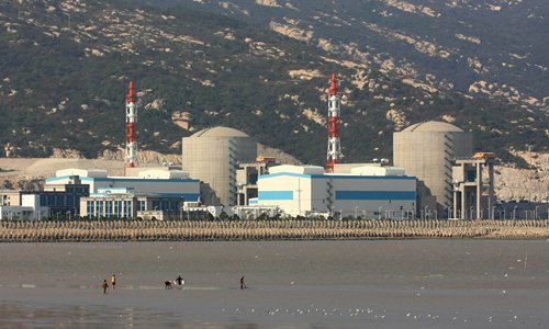 A view of the Tianwan Nuclear Power Plant Phase One in Lianyungang, East China's Jiangsu Province. Photo: IC