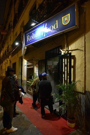 the Robin Hood restaurant