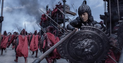 Promotional material for <em>The Great Wall</em> Photo: IC