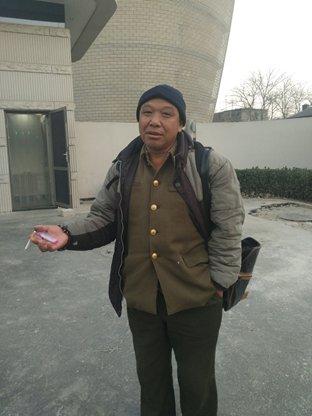 Feng Jun, a farmer who lost his daughter to leukemia Photo: Huang Jingjing/GT