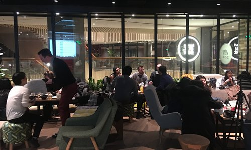 Diners at the first Shanghai Soup fundraiser