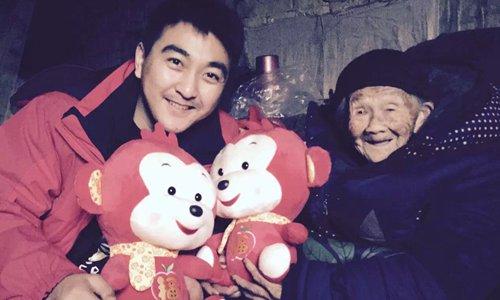 Guo Ke (left) and Wei Shaolan Photo: Courtesy of Guo Ke
