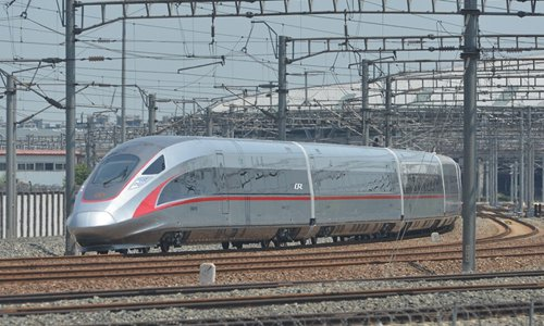 China's new bullet train has top speed of 400 km/hr - Global Times