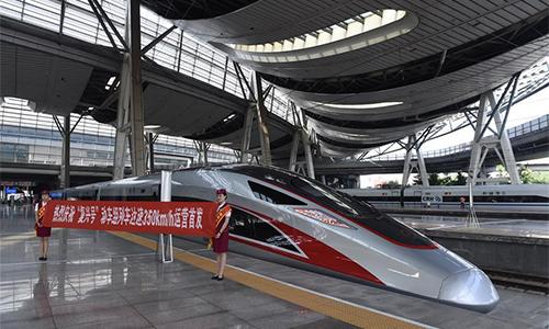 Bullet train runs 350km/hr from Beijing to Shanghai - Global