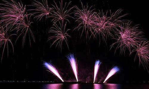 Latest pyrotechnics works showcased in Philipp