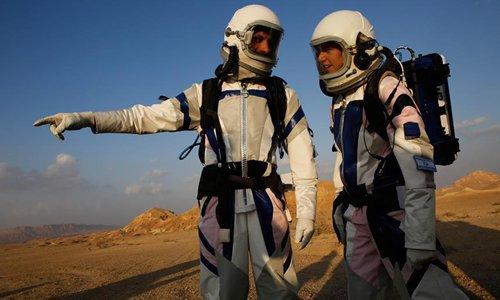 Mars is recreated in Israeli desert