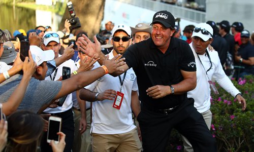 Mickelson ends title drought in Mexico