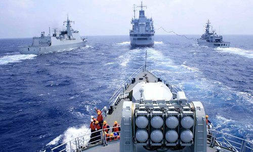 Reports reveal major achievements in Chinese naval weaponry - Global Times