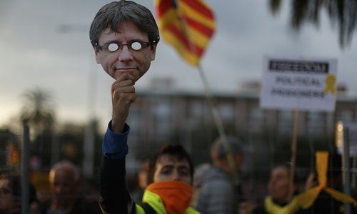 Ex-Catalan leader in German court