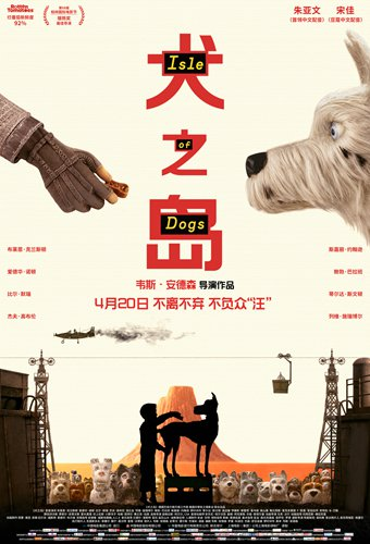 Wes Anderson S Isle Of Dogs Debuts In China To High Acclaim But Low Box Office Global Times