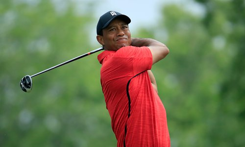 US Open signs encouraging for Woods