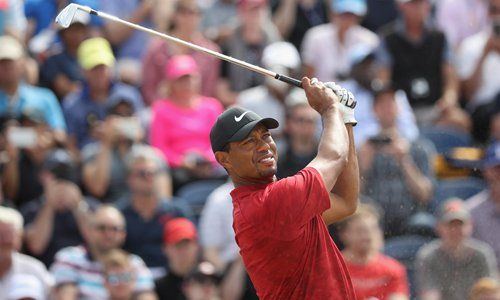Tiger's play inspires hopes for glory days