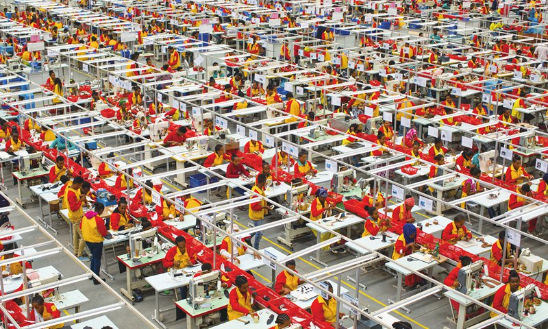 Industrial park in Ethiopia builds friendship with China by bringing
