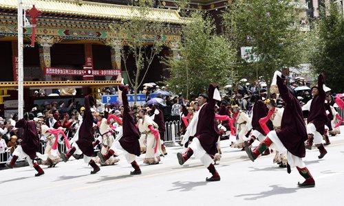 Quake-battered Tibetan prefecture rebuilt from debris with modern improvements