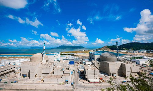Unit 1 of the Taishan nuclear power plant begins commercial operations on December 13. Photo: VCG