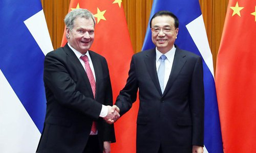 China can provide broad business opportunities for Finland: premier