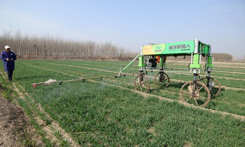 Smart farming - Global Times