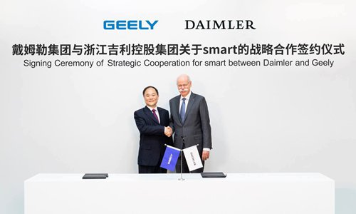 Geely may repeat Volvo makeover with Daimler's smart cars
