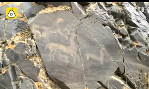 3,500-year-old rock paintings discovered in NW China