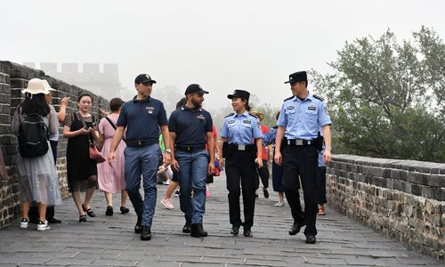 Beijing police working with foreign counterparts and