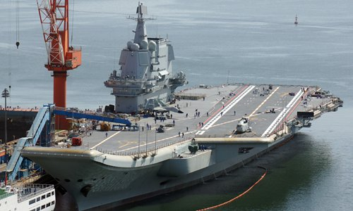 China to soon commission 1st homemade aircraft carrier: reports