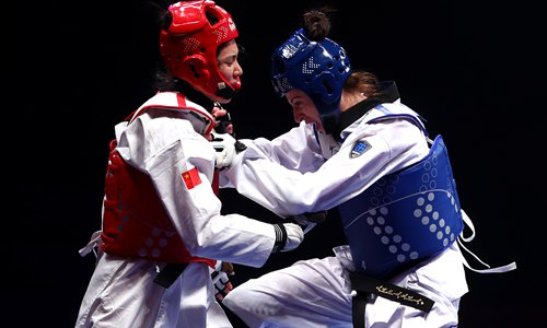 Taekwondo champion claims gold medal 'stolen'  - Global Times