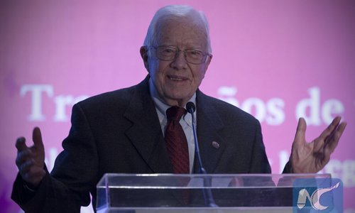 Jimmy Carter receives award for role in China-US relations - Global Times