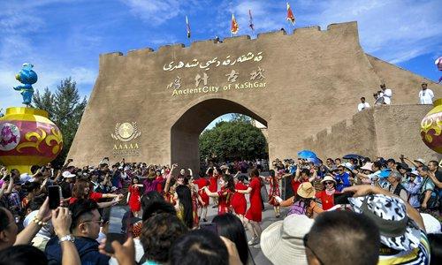 Xinjiang benefits from stability